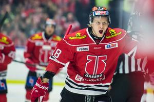 Rodrigo Abols gjorde ett av Örebros mål. Bild: Dennis Ylikangas/Bildbyrån