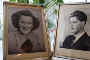 Anna-Stina och Gunnar Lindström blev äkta makar 1952.
