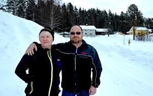 Dagen efter äventyret pustar Lillian och Mats Ulander ut i Liden.