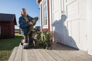 Vid årsskiftet är det dags för Daniel Banck att ta på sig tjänsteuniformen igen, när han tillträder som chef för dalregementsgruppen i Falun.