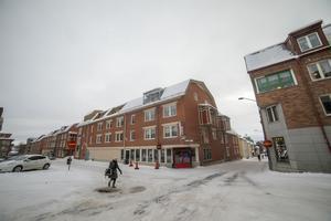Högre hus och tätare byggt har det blivit i korsningen Prästgatan/Tullgatan.
