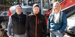 Bröderna Björn Hed och Micke Heed startar nu företaget Enava tillsammans med Ulrika Munther.