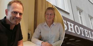 Magnus och Sofie har förverkligat drömmen de närt så länge, att driva ett hotell tillsammans.