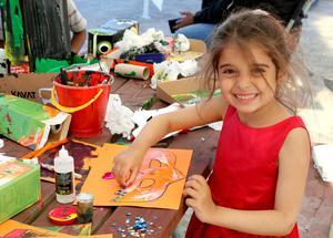 Årets Nackstafestival lockade unga och gamla och skaparkraften är det inget fel på.