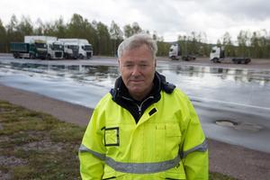 Hans Moberg, VD på NTF.