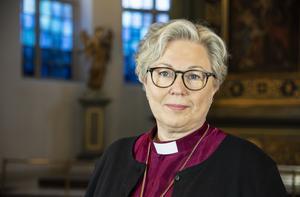 Biskop Eva Nordung Byström. Foto:Kerstin Stickler/Härnösands stift