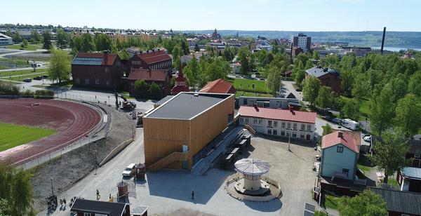 Nationalmuseum Jamtli slår upp portarna på söndag, den 17 juni. Museet är en filial till Nationalmuseum i Stockholm. Pressbild Jamtli.