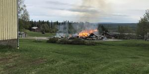 Bild från räddningstjänsten.