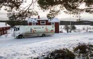 Efter uppehållet i natursköna Sidskogen vänder bussen åter till huvudbiblioteket i Ljusdal.