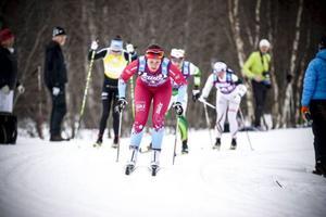 Britta Johansson Norgren var först i Edsåsdalen.