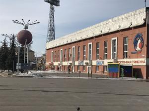Kuzbass arena i Kemerovo – med plats för närmare 40 000 åskådare.