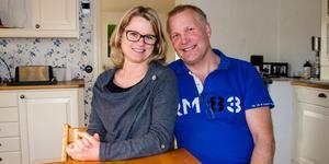 Sofie Cederström och Micke Östberg blev kära under besöket i Afrika.