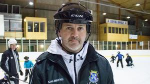 Peter Åsmo, ordförande i Ludvika Hockey.