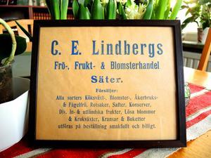 Owe Jacobssons farmors far kom till Säter 1906 och startade handelsträdgård.
