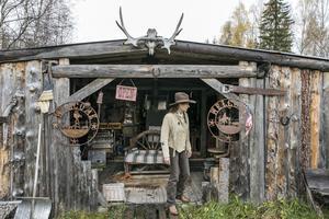 På tomten finns en grillplats i westernstil under namnet