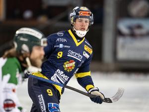 Falu BS skyttekung den gångna vintern, David Forsell, har kontrakt även den kommande säsongen.