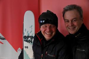 Janne Wärvik och Kevin Kirk. Foto: Christofer Thorén