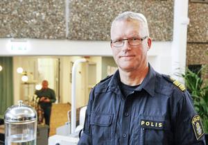 Per Ågren är chef över polisen i Gävleborg.