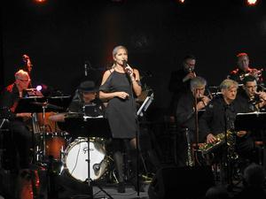 Viktoria Tolstoj gästade Borlänge jazzklubb 2017. Foto: Lennart Götesson