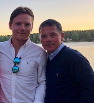 Rasmus Linder och Thomas Linder. Bild: Privat
