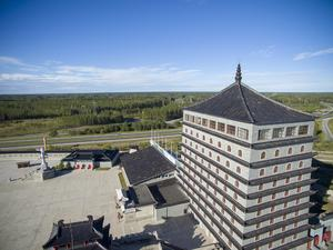 Dragon Gate ligger inom den halvtimmes radie där arrangörerna i första hand jagar hotellrum inför EM-veckan i juli.