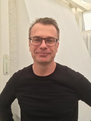 Dan Englund ser fram emot att visa upp sin laboration under