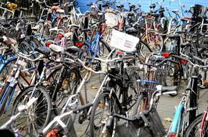 Cyklar i massor blir det på Beijer-tomten. Frågan är hur alla de ska förvaras och var de ska kunna parkeras utomhus. Bild: Bertil Ericson / Scanpix