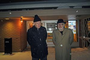 Lasse Johansson och Gunnar Lindholm är två av eldsjälarna bakom Vansbro Teaterförenings nysatsning i Vansbro.