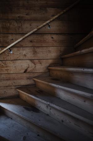Övervåningen får just nu vänta. Första målet är att kunna flytta in där nere.