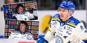 Patrik Zachrisson var irriterad efter förlusten mot Färjestad. Foto: BILDBYRÅN / C More