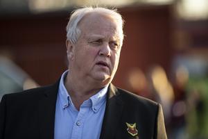 Ordförande Bo Ottosson känner ingen oro efter att Ringvalls avhopp. Foto: Per Danielsson / TT
