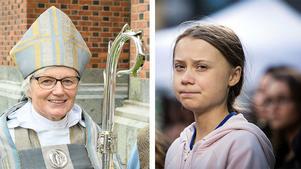 Ärkebiskop Antje Jackelén och Greta Thunberg backas upp av över 11000 förskare världen över när de slår larm om en ekologisk och klimatmässig kris.