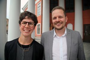 Knapp Britta Thyr har under den här mandatperioden suttit som vice ordförande i samhällsnämnden samt ledamot i kommunfullmäktige. Göran Hådén är ledamot i skolnämnden och nämndeman.