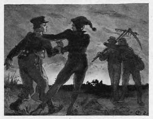 Carl Larssons illustration till folksagan