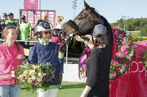 Ringostarr Treb vann Elitloppet 2018. Nu kommer hästen till Bergsåker för att försöka vinna Sundsvall Open Trot.