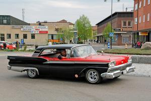 Spontan cruising i  Köping förra lördagen.