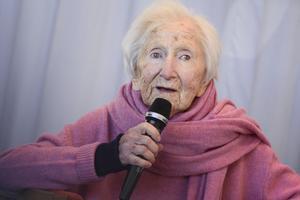 Hédi Fried skrev om Förintelsen för barn. Ho är en av de osynliga vars litteratur förhoppningsvis lever vidare in i framtiden. Bild: Naina Helen Jåma