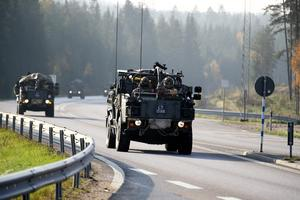 Varje år hålls flera stora militära övningar med Natoländer på svensk mark och i svenskt vatten. Foto: TT