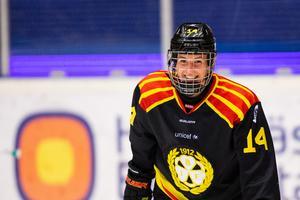 Så här glad blir man när man spräckt målnollan. Hanna Rylander inledde målskyttet borta mot Linköping. Bild: Tobias Sterner / Bildbyrån.