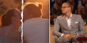 Kärleken höll inte mellan Johanna och Felix när TV-kamerorna slocknat. Men vad var det som hände? Foto: Tv4.