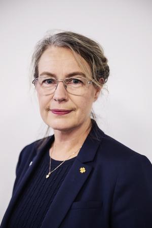 Oppositionsrådet Anna-Britta Åkerlind (C)