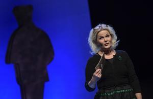 På bilden visas Sissela Kyle. Foto: Pontus Lundahl.