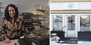 Anna Johnson flyttar till nya lokaler med sin butik Sextiofyra Kvadrat.