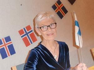 Ulla Brännström-Englsperger presenterade sin nya bok. Foto: Karin Malmsten