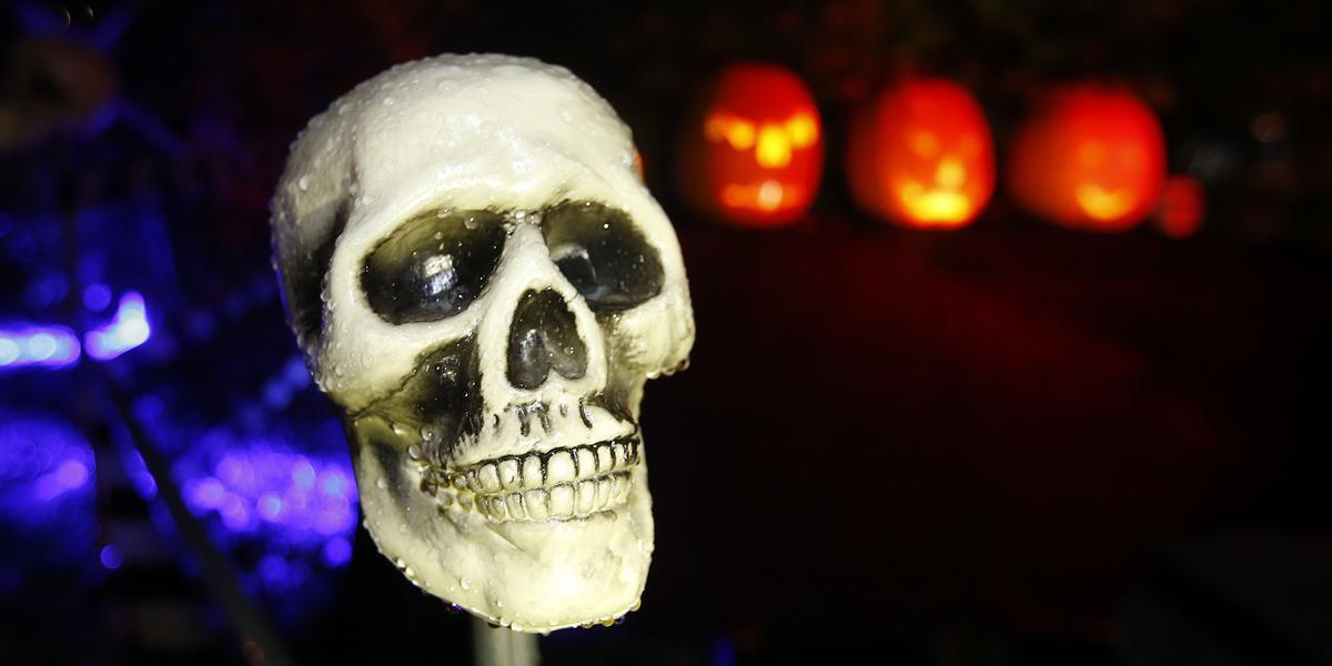 Sodertalje Centrum Far Ett Spokhus Till Halloween Kan Bli Stans Laskigaste