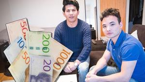 Hassan Mohammadi och Reza Safari startade föreningen En hjälpande hand.