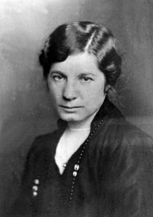 Författaren och journalisten Elin Wägner var en av våra tidiga kvinnosakskämpar.