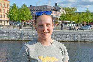 Olivia Uggla, 27 år, röntgensjuksköterska, Sundsvall: