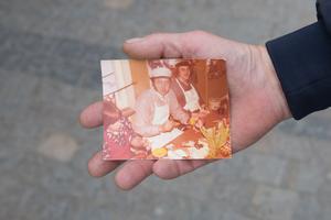 När han var  i femtonårsåldern tog Pelle Bergvall (längst till höger i bild) sitt första jobb på Ica.