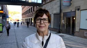 Lena Österlund, 66, förskollärare, Sundsvall:
